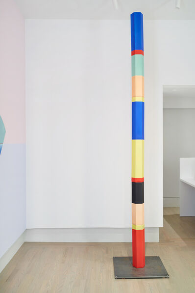 Anton Ginzburg, 'Polychrome Column 10A_01', 2019