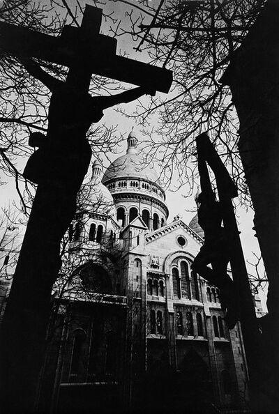 Burt Glinn, 'Montmartre, Sacre Coeur', late 1950s