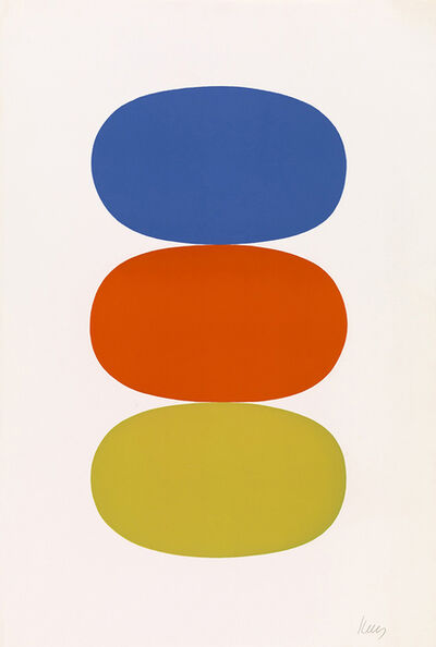 Ellsworth Kelly, 'Blue and Orange and Green', 1964