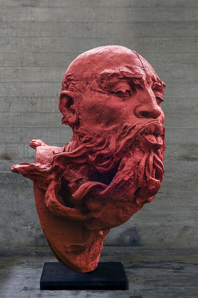 """Javier Marin, 'Cabeza de Hombre """"Soplador III""""', 2018"""