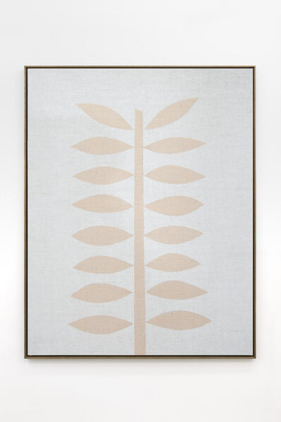 Antonio Ballester Moreno, 'Sin título (planta fondo blanco)', 2020