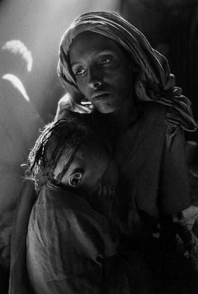 Sebastião Salgado, 'Mother and Child at the Korem Camp, Ethiopia, 1984', 1984