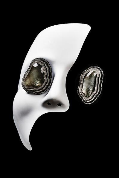 William Ehrlich, 'Rock Crystal Earrings '