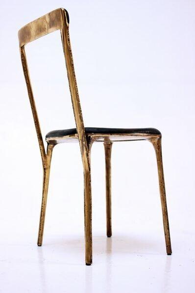 """Valentin Loellmann, 'Chair - """"Brass"""" collection', 2017"""