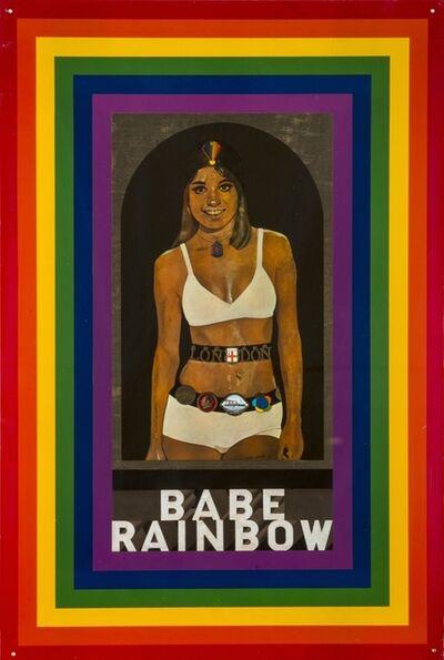 Peter Blake, 'Babe Rainbow', 1968