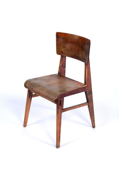 Jean Prouvé, 'Chair in Oak plywood and massive oak', 1946