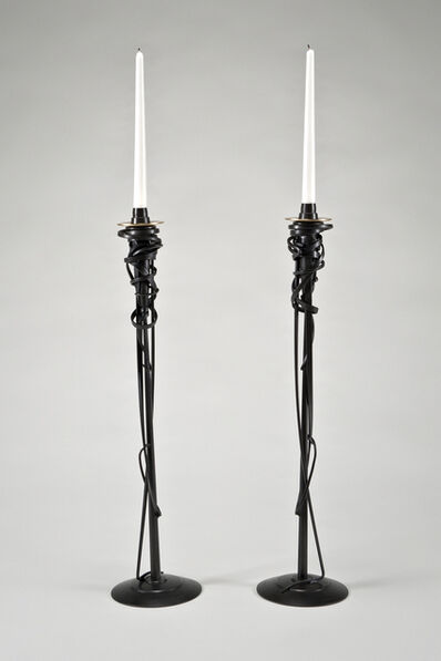 Albert Paley, 'Tall Candleholders', 2001