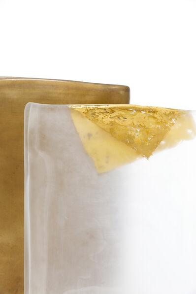 Laura de Santillana, 'Cri au ( Untitled, Clear-gold )', 2002