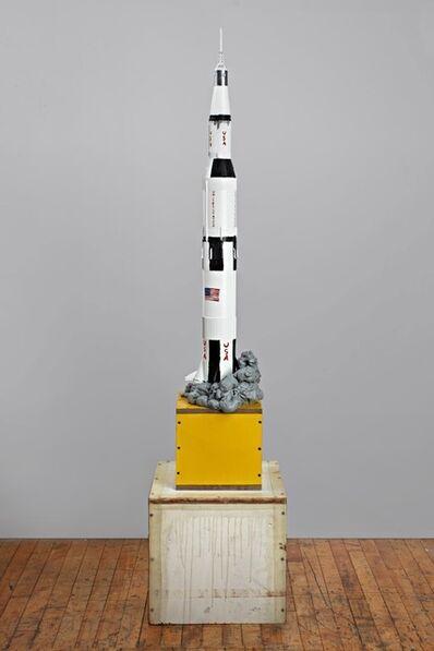 Tom Sachs, 'Saturn V (painted version)', 2011