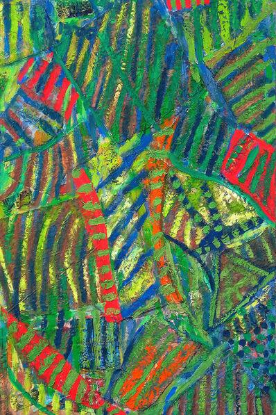 Pacita Abad, 'Melancholy green', 2001