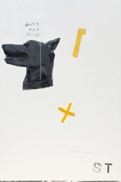 Gino Belassen, 'Wolf's Not Dead', 2017