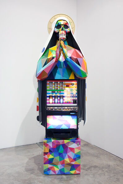 Okuda San Miguel, 'Faith's Game', 2018