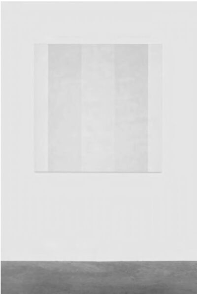 Mary Corse, 'Untitled (White Inner Bands)', 2008