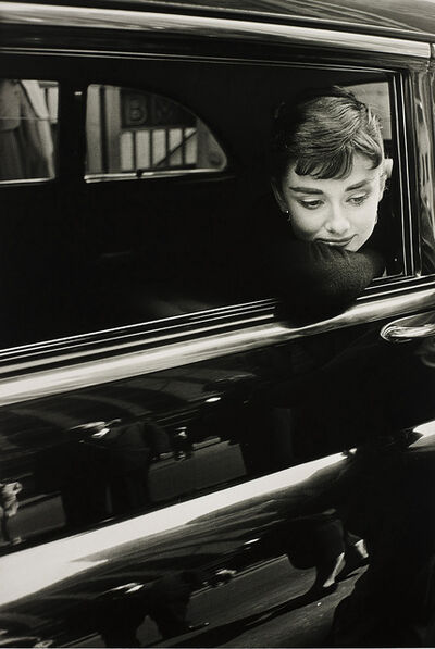 Dennis Stock, 'Audrey Hepburn during the filming of 'Sabrina' by Billy Wilder', 1954
