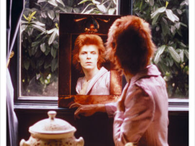 Mick Rock, 'Bowie in Mirror, Haddon Hall, UK', 1972
