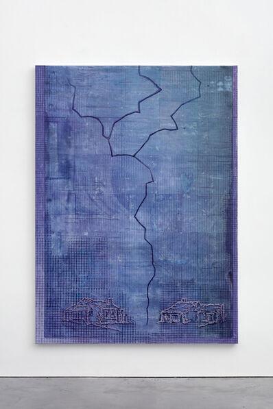 Michael Raedecker, 'pause', 2018