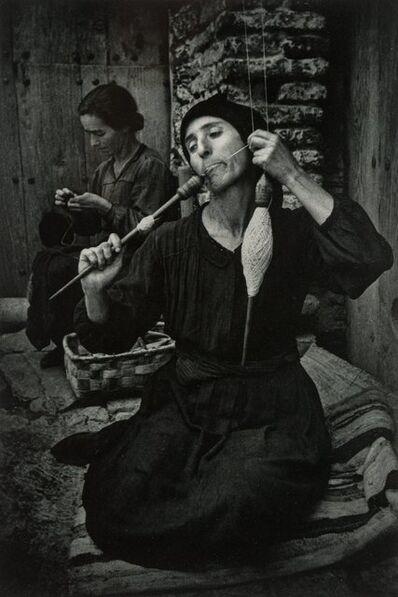 W. Eugene Smith, 'The Spinner', 1951
