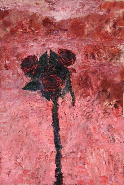 Hanaa Malallah, 'The Three Red Roses', 2016