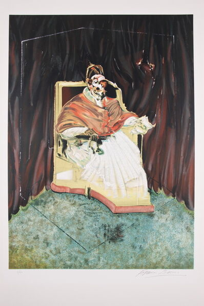 Francis Bacon, 'Study for Portrait of Pope Innocent X after Velasquez ', 1989