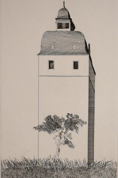 David Hockney, 'The Bell Tower, from: Six Fairy Tales from Brothers Grimm', 1969