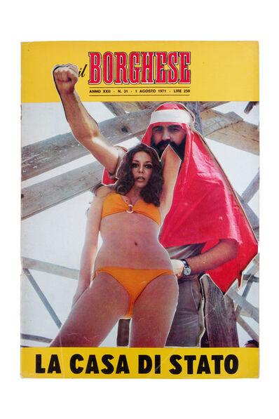 Renaud Auguste-Dormeuil, 'Uncover - Il Borghese 1 Agosto 1971', 2013