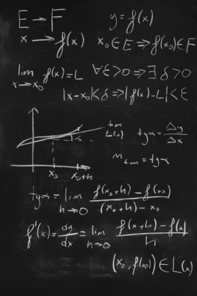 Sergen Şehitoğlu, 'Calculus: Definition of derivative', 2020
