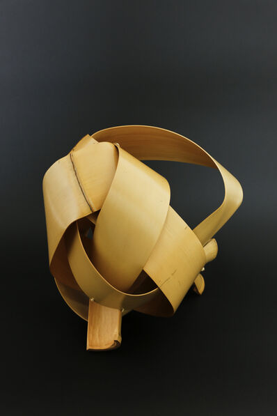 Matsumoto Hafū, 'Noshitake bamboo basket 'Fushi ( Spirit of the Wind )'', 2017