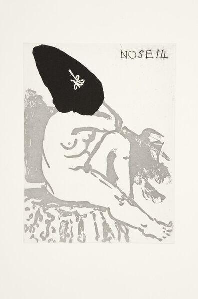 William Kentridge, 'Nose 14', 2009