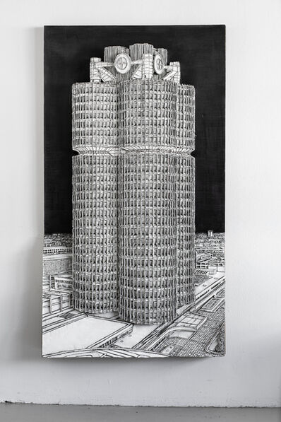 Martin Spengler, 'Vierzylinder', 2020