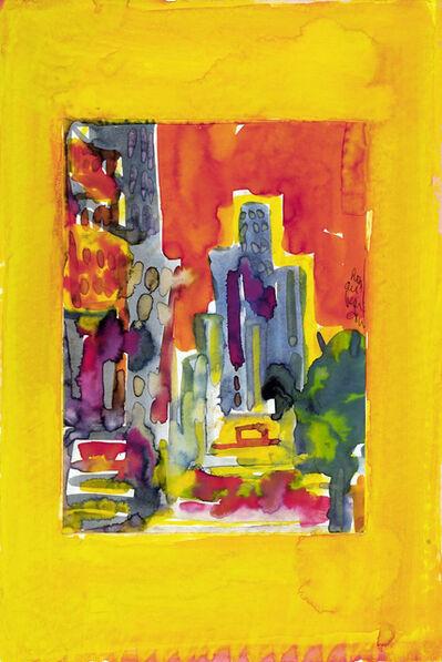 Romare Bearden, 'Avenue at Sunset', ca. 1982