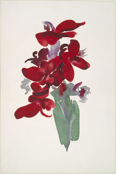 Georgia O'Keeffe, 'Red Canna', 1914