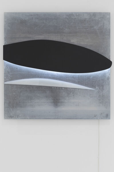 Gun Gordillo, 'black white', 1999