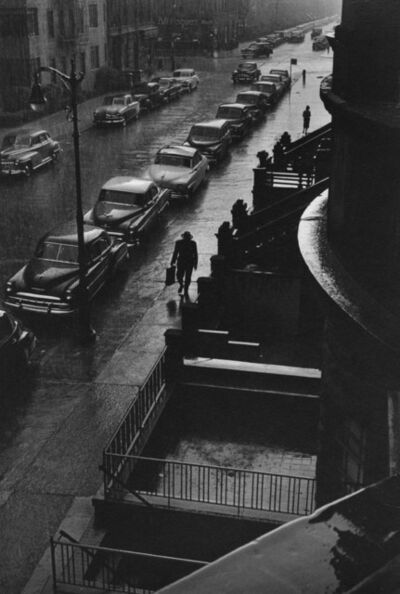 Ruth Orkin, 'Man in Rain', 1952