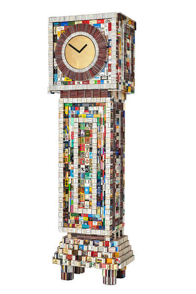 Diederik Schneemann, 'Matchbox King Clock ', 2019