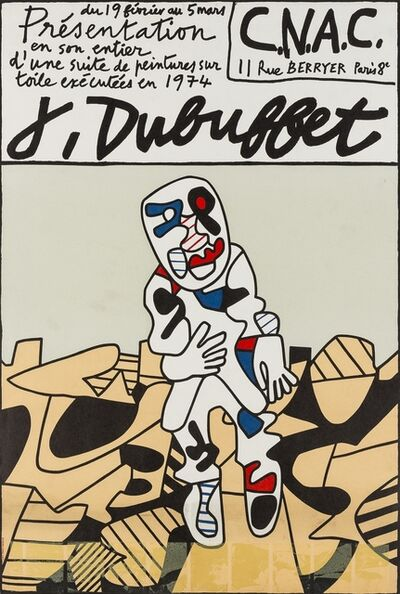 After Jean Dubuffet, 'Poster for C.N.A.C, 1977', 1974