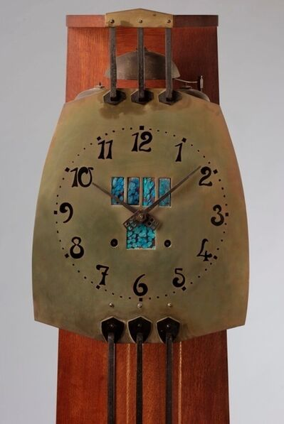 Gustave Serrurier-Bovy, 'Clock', 1905