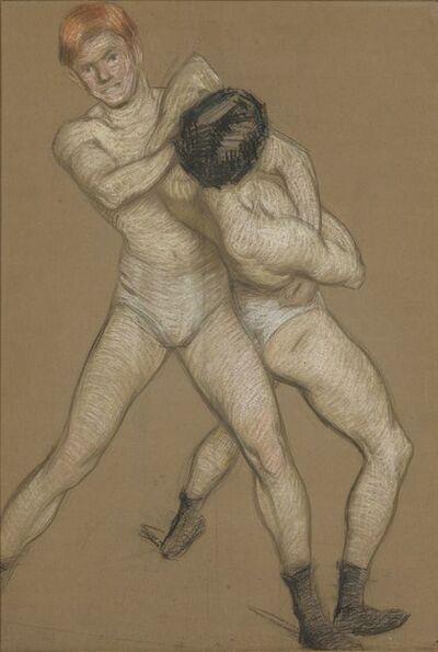 Philip Leslie Hale, '[The Wrestlers]'