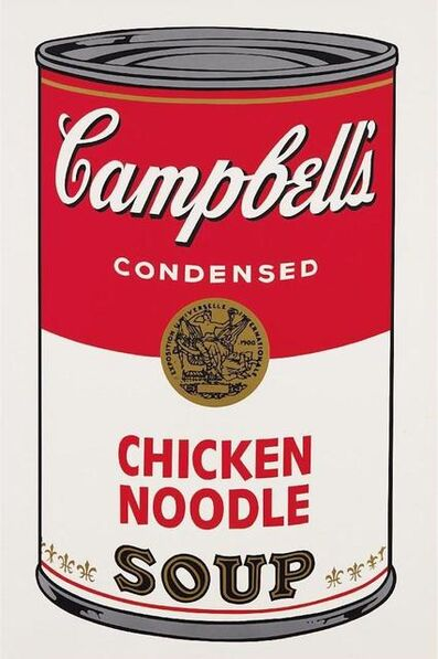Andy Warhol, 'Chicken Noodle Soup', 1968