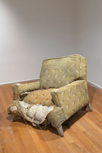 Rodney McMillian, 'chair', 2003
