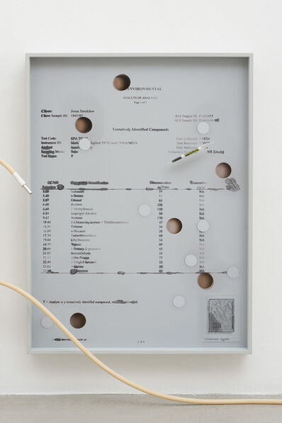 Jesse Stecklow, 'Untitled (Brooklyn Residence Data)', 2014