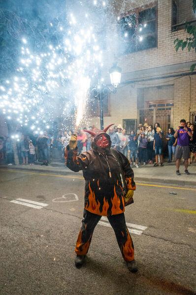 Barry Snidow, 'Fiestas y Fuego, Diablo con Cara Roja, Chelva (Parties and Fire, Devil with Red Face, Chelva)', 2021