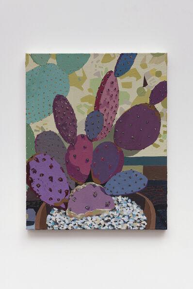 Hilary Pecis, 'Purple Cactus', 2018