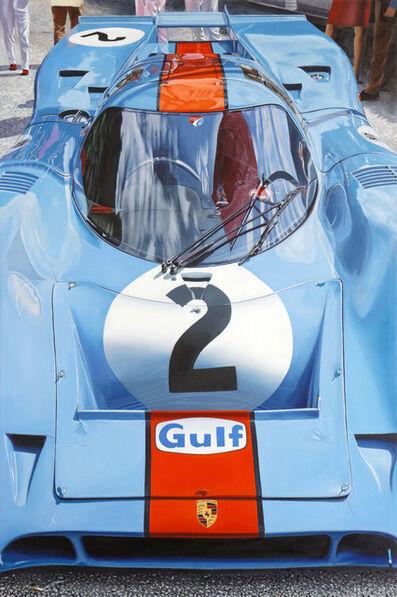Enrico Ghinato, ' Porsche 917 - Gulf ', 2014