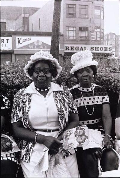 Ming Smith, 'Amen Corner Sisters, New York City, NY', 1975