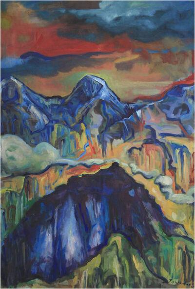 Valentin Roschacher, 'Eiger, Mönch und Schwarzmönch', 2006