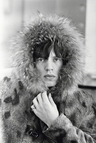 Terry O'Neill, 'Mick Jagger in a Fur Parka', 1964