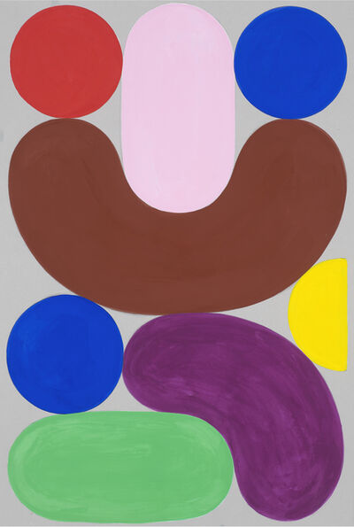 Charles Avery, 'Untitled (Design for a poster, assorted fruits)', 2020