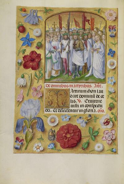 Master of James IV of Scotland, 'All Saints', 1510-1520