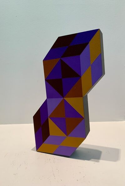 Victor Vasarely, 'Stele - Double Hexagon', 1988