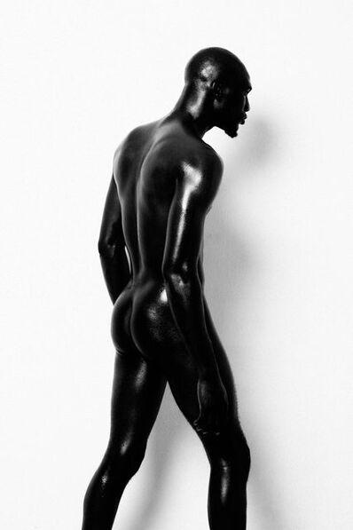Lakin Ogunbanwo, 'Untitled (Standing Nude)', 2014